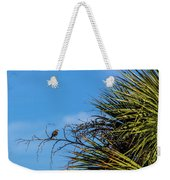 Bird On A Palm Branch Weekender Tote Bag