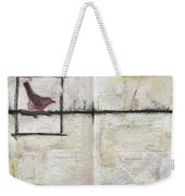Bird On A Wire Weekender Tote Bag