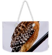Bird On A Wire With Attitude Weekender Tote Bag