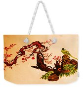 Bird On Branch Weekender Tote Bag