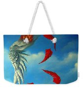 Bird On Fire Weekender Tote Bag