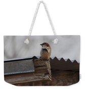 Bird On Roof Weekender Tote Bag