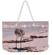 Bird On The Beach Weekender Tote Bag