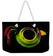 Bird Out Of An Old Car Tire Weekender Tote Bag