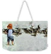 Bird Play Weekender Tote Bag