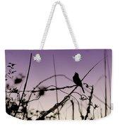 Bird Sings Weekender Tote Bag