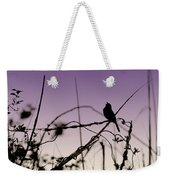 Bird Sings Weekender Tote Bag