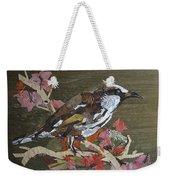 Bird White Eye Weekender Tote Bag