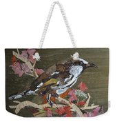Bird White Eye Weekender Tote Bag