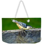 Bird With The Seed Weekender Tote Bag