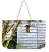 Birdhouse 6 Weekender Tote Bag