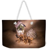Birdhouse And Behive 1 Weekender Tote Bag