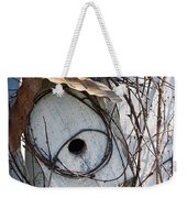 Birdhouse Brambles Weekender Tote Bag