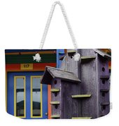 Birdhouses For Colorful Birds 2 Weekender Tote Bag