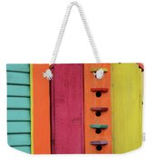 Birdhouses For Colorful Birds 5 Weekender Tote Bag