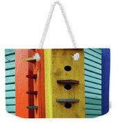Birdhouses For Colorful Birds 6 Weekender Tote Bag