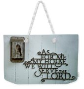 Birds And Bible Verse Weekender Tote Bag