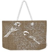 Birds And Burlap 2 Weekender Tote Bag