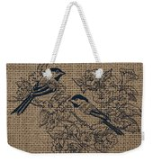 Birds And Burlap 1 Weekender Tote Bag