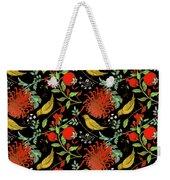Birds And Flowers Weekender Tote Bag