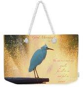 Birds And Fun At Butler Park Austin - Birds 3 Detail Macro Poster - Good Morning Weekender Tote Bag