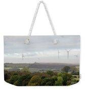 Birds And Wind Turbines  Weekender Tote Bag