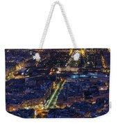 Bird's Eye On Paris 2 Weekender Tote Bag
