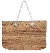 Birds-eye Pattern On Sugar Maple Wood Abstract In Nature Weekender Tote Bag