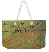 Bird's Eye View Weekender Tote Bag