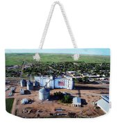 Birds Eye View Of Chappell Weekender Tote Bag