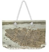Birds Eye View Of Charleston Weekender Tote Bag