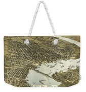 Birds Eye View Of Jacksonville Florida 1893 Weekender Tote Bag