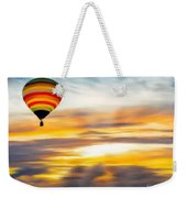 Birds Eye View Of Sunset Weekender Tote Bag