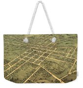 Bird's Eye View Of The City Of Huntsville, Madison County, Alabama 1871 Weekender Tote Bag
