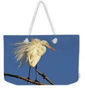 Birds - Great Egret Weekender Tote Bag