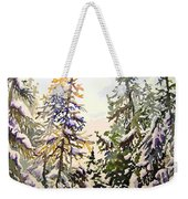 Birds Hill Park One Late Afternoon In January Weekender Tote Bag