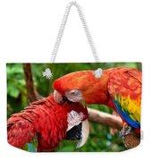 Birds In Love Weekender Tote Bag