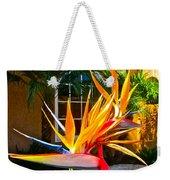 Birds In Paradise Weekender Tote Bag