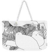 Birds In Pine Weekender Tote Bag