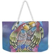 Birds Of A Feather Stick Together Weekender Tote Bag