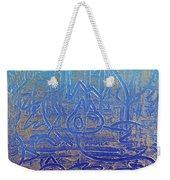 Birds Of Blue Weekender Tote Bag