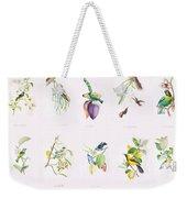 Birds Of Brazil Weekender Tote Bag