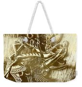 Birds Of Metal Weekender Tote Bag