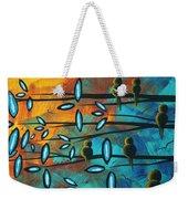 Birds Of Summer By Madart Weekender Tote Bag