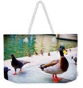 Birds Of The River Weekender Tote Bag