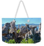 Birds On Tufa Towers-mono Lake Weekender Tote Bag