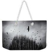 Birds Over Bush Weekender Tote Bag