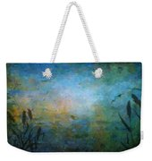 Birds Over The Lake Weekender Tote Bag