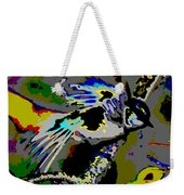 Birds That Fly In Electric Skies Weekender Tote Bag