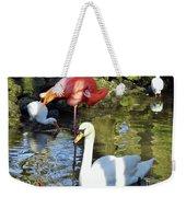 Birds Together Weekender Tote Bag